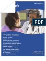 HIV and its Treatment