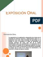 la Exposición Oral