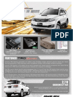 Fortuner VNT Flyer Aug 2012