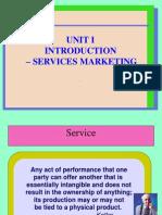 service marketing unit 1