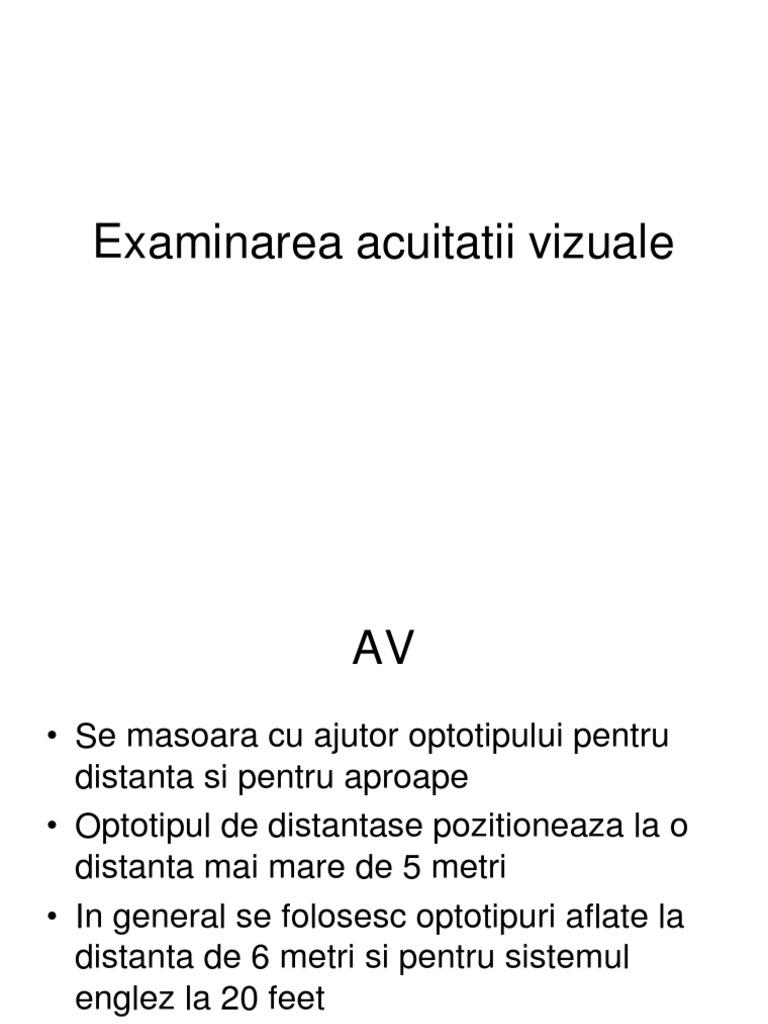 acuitatea vizuală necorectată miopia viziunii 4