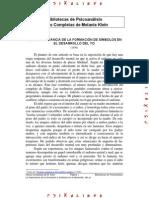 La Importancia de La Formaci n de s Mbolos en El Desarrollo Del Yo