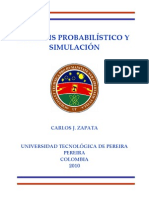 Analisis Probabilistico y Simulacion