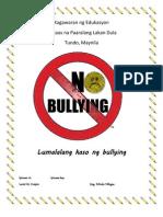 pamanahong papel sa bullying