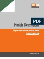 Module Descriptions for Mwright