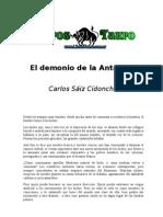 Saiz Cidoncha, Carlos - El Demonio de La Antartida