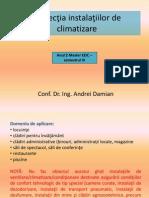 C1.Inspecţia instalaţiilor de climatizare