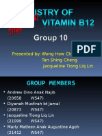 STK1113 Group 10 - Chemistry of Vitamin B12
