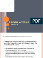 Chapter 16 Dental Materials (Dmd3d)