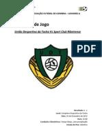 Relatorio Jogo - Tocha vs Ribeirense