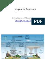 atmospheric exposure