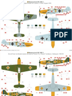 bf 109 painting guide