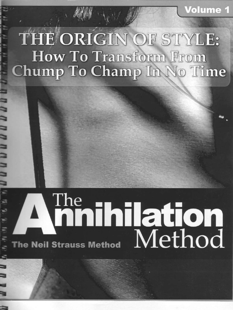 Download The Annihilation Method How To Transform From Chump To Champ In No Time