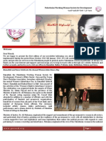 January Newsletter of PWWSD in English