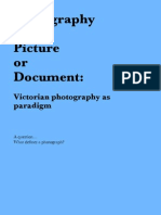 Lecture 01 - Photography as Picture or Document