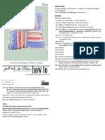 Parquet pillow cover
