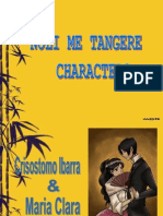 Analysis of noli me tangere ppt version religion and belief noli me tangere characters toneelgroepblik Images