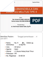 ABSES SUBMANDIBULA DAN DIABETES MELITUS TIPE II.pptx