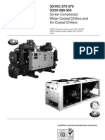 carrier chiller data air conditioning valve rh scribd com Model Chiller 1968 Carrier 30Hs070-A160 Carrier Chiller Specs 1968