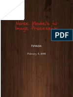 Noise Models in Image processing