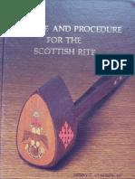 Clausen H C - Practice & Procedure for the Scotish Rite 1981 (1)