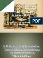HISTORIA DE ESPAÑA TEMA 6