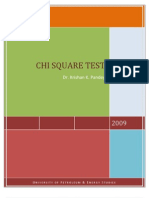 CHi Square analysis