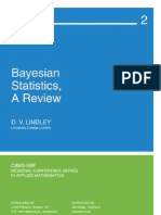 Lindley Bayesian Statistcs a Review