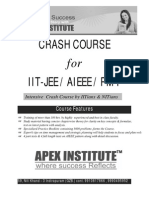ALL INDIA TEST SERIES FOR IIT-JEE
