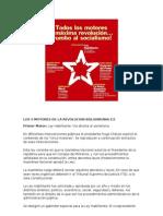 Los 5 Motores de La Revolucion Bolivariana