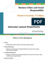 Chapter 2 Business Ethics and Social Responsibility