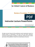 Chapter 4 The Global Context of Business