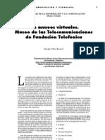 Los museos virtuales. Museo de las Telecomunicaciones de Fundación Telefónica