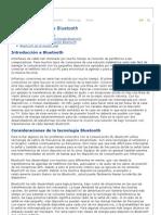 Comunicación inalámbrica Bluetooth
