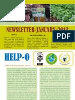 HELP-O January News Letter 2013