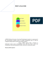 pestel analysis of textile industry
