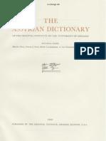Dicionário Assírio - Volume I - A - Parte 2