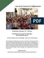 Flyer for 'Undestroyed' presentation