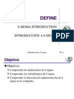 6 Sigma Training Manual