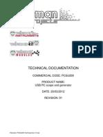 Velleman Pcsu200 Usb Oszi Generator