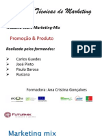 Marketing mix - apresentação em Power Point