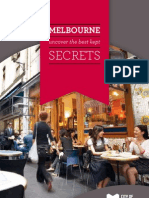 Melbourne visitor brochure