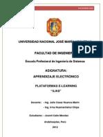 Aprendizaje Electronico-plaforma Ilias