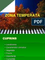 ZONA TEMPERATĂ