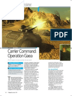 Carrier Command review - PC Format