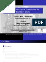 Modelado y Control de Una Columna de Destilacion - Exposicin Marzo 2011