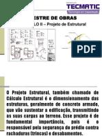 Mestre de Obras Modulo II-Projeto Estrutural