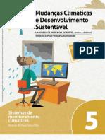 MUDANÇAS CLIMÁTICAS E DES. SUSTENTÁVEL_fasc. 05 _sistemas de monitoramento climáticos
