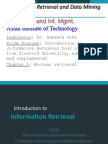 information retrival systems