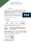 Notificacion Pago de Cuota Temporada 2013